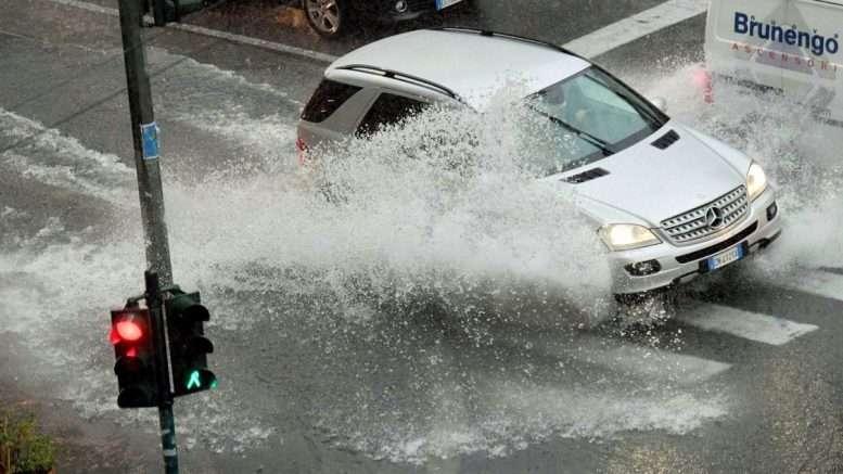 Allerta temporali sull'Emilia Romagna dalle 8 alle 24 di domani