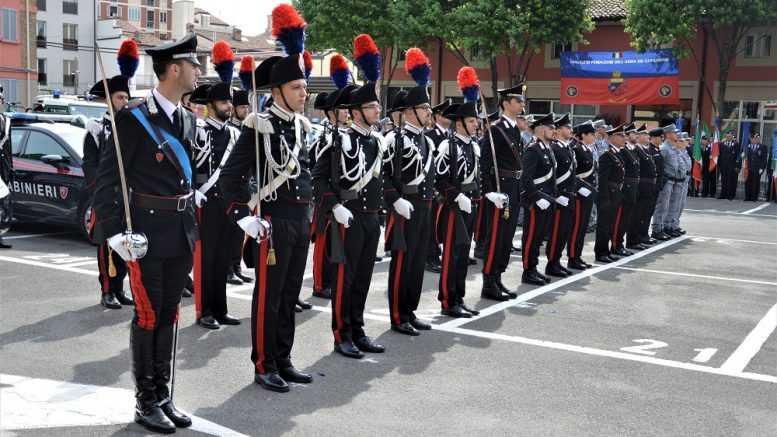 Carabinieri in festa: