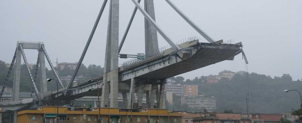 Crolla ponte Morandi Anpas