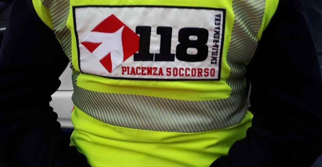 Colline di Gropparello, Motociclista ferito dopo caduta