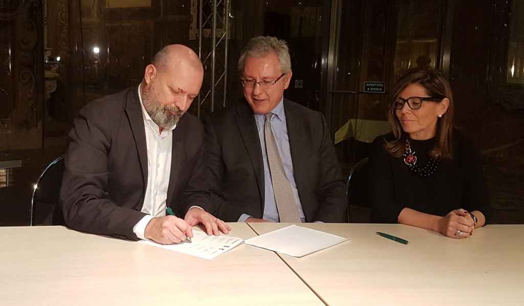 Ospedale di Piacenza, firma Bonaccini, Baldino e Barbieri