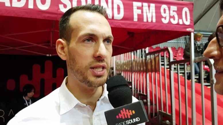 Gabriele Ceccarelli, coach Assigeco Piacenza