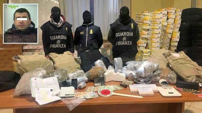droga a Piacenza