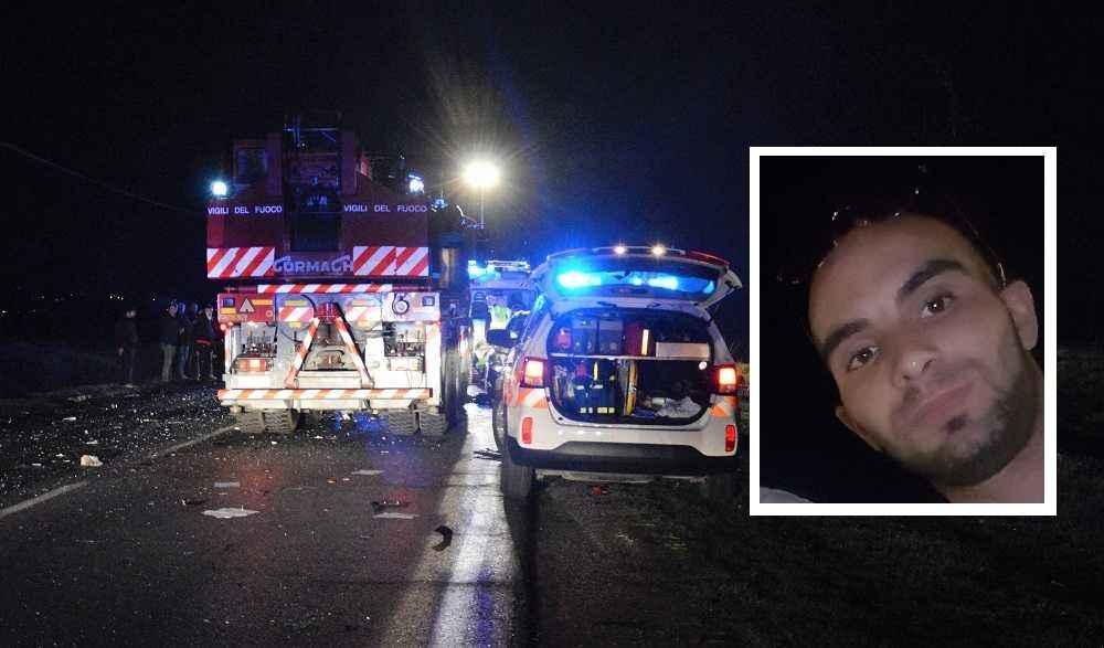 Morto nell'auto in fiamme, Klodian