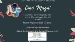 campionessa piacentina Giorgia Bronzini, Ciao Maga