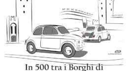 In 500 tra i Borghi di Castell'Arquato e Vigoleno