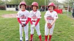 Tre biancorossi under 12
