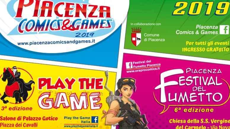 Piacenza Comics & Games 2019
