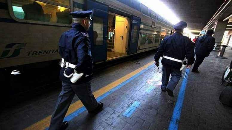 Molestie alla stazione ferroviaria