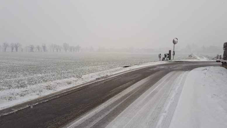 Temporali e neve anche nel piacentino