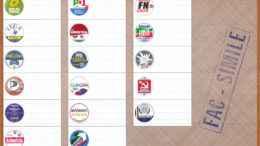Fac-Simile scheda elezioni Parlamento Europeo