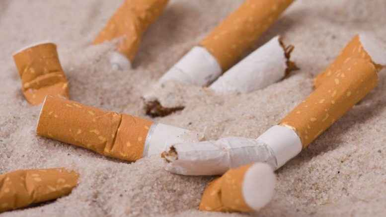 Fumo in spiaggia