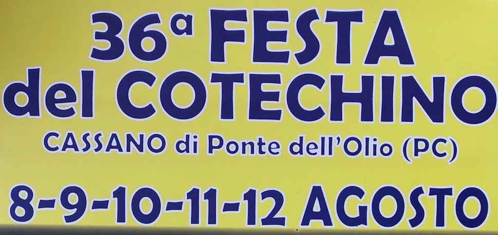 Festa del Cotechino 2019