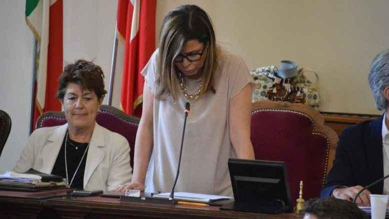 Patrizia Barbieri nel consiglio comunale
