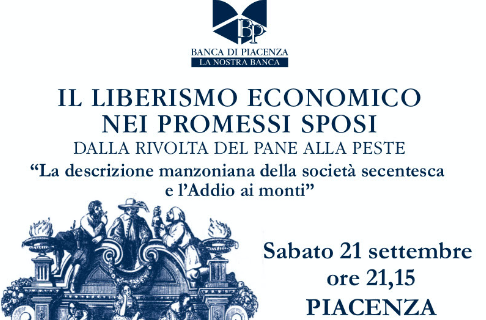 Il liberismo economico nei Promessi Sposi, il 21 settembre