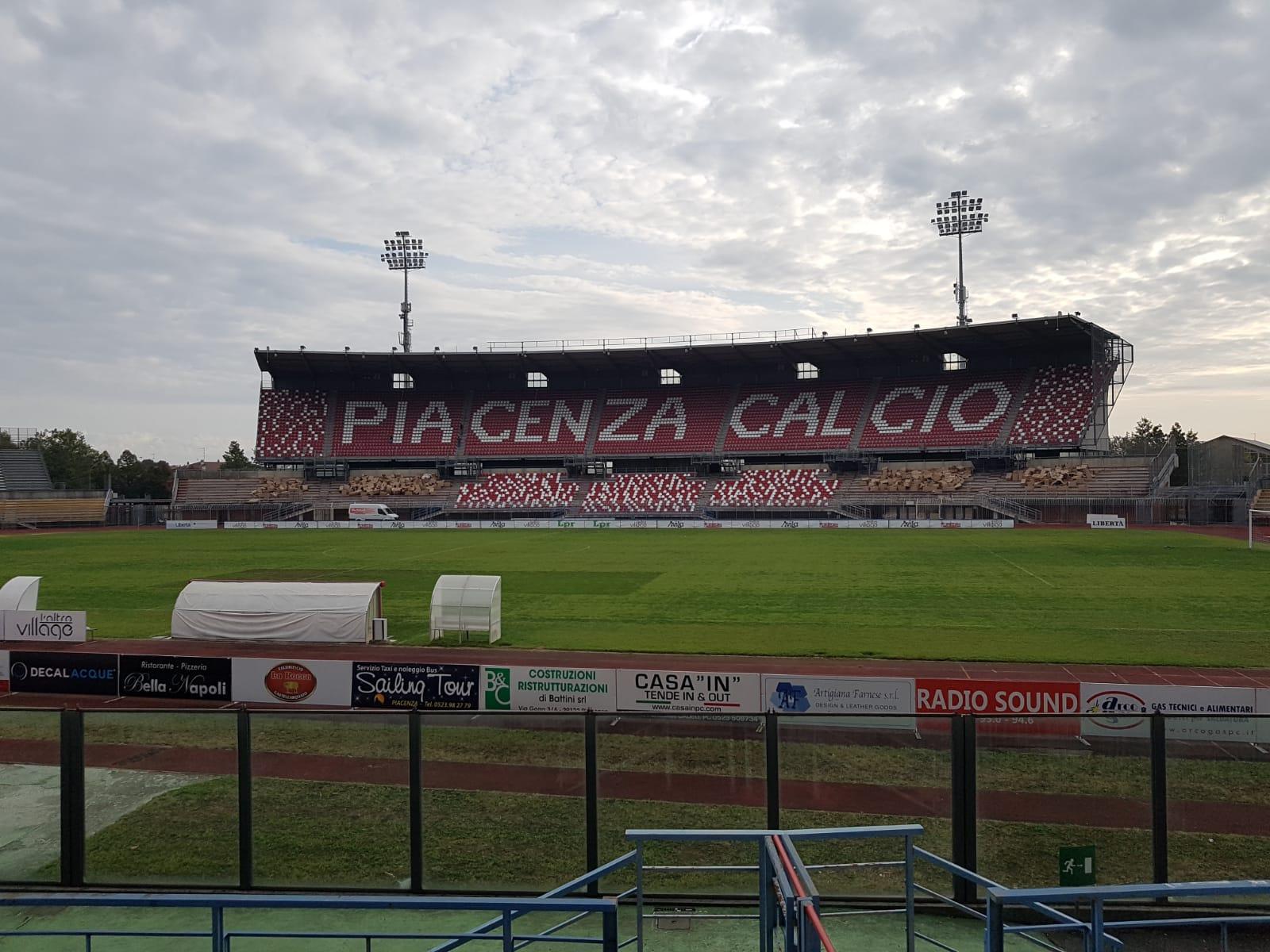 Stadio Garilli, piacenza calcio