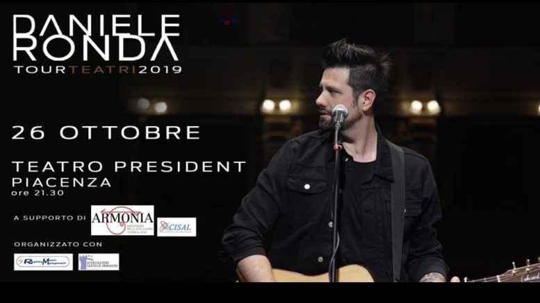 Daniele Ronda Concerto 26 ottobre 2019