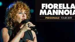 Fiorella Mannoia tour 2019