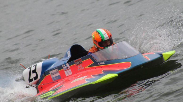 Massimiliano Cremona, secondo motonautica