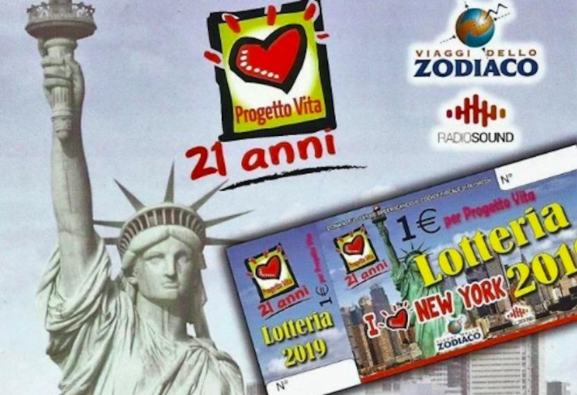 Lotteria Progetto Vita 2019