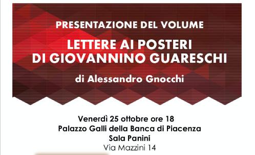 """Presentazione volume """"Lettere ai posteri di Giovannino Guareschi"""""""