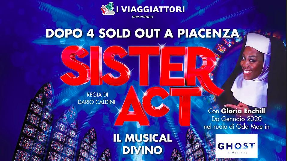 """Il musical """"Sister Act"""" al Politeama di Piacenza il 23 e 24 novembre - Piacenza24"""