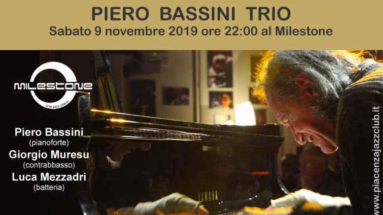 Con Piero Bassini la storia del jazz italiano approda al Milestone