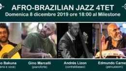 Al Milestone l'8 dicembre ritorna Gino Marcelli insieme a un quartetto di musicisti internazionali