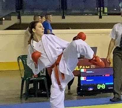 giulia ghilardotti, karate