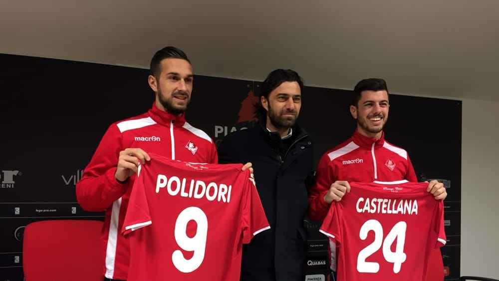 Alessandro Polidori, Bianco e rosso, piacenza calcio