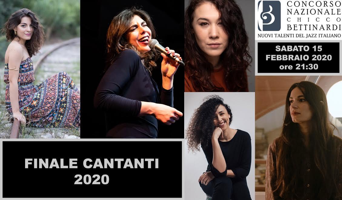 """Tutta al femminile la finale della cantanti al """"Bettinardi 2020"""""""