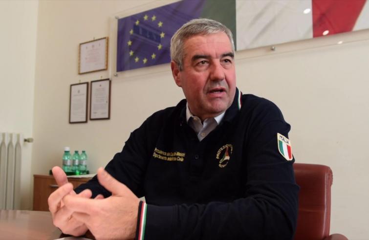 Angelo Borrelli, capo del Dipartimento della Protezione Civile e nominato commissario per l'emergenza coronavirus