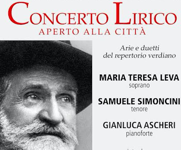 Omaggio a Verdi con un Concerto lirico al Municipale