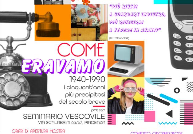 """""""Come eravamo: 1940-1990"""", la mostra a Piacenza"""
