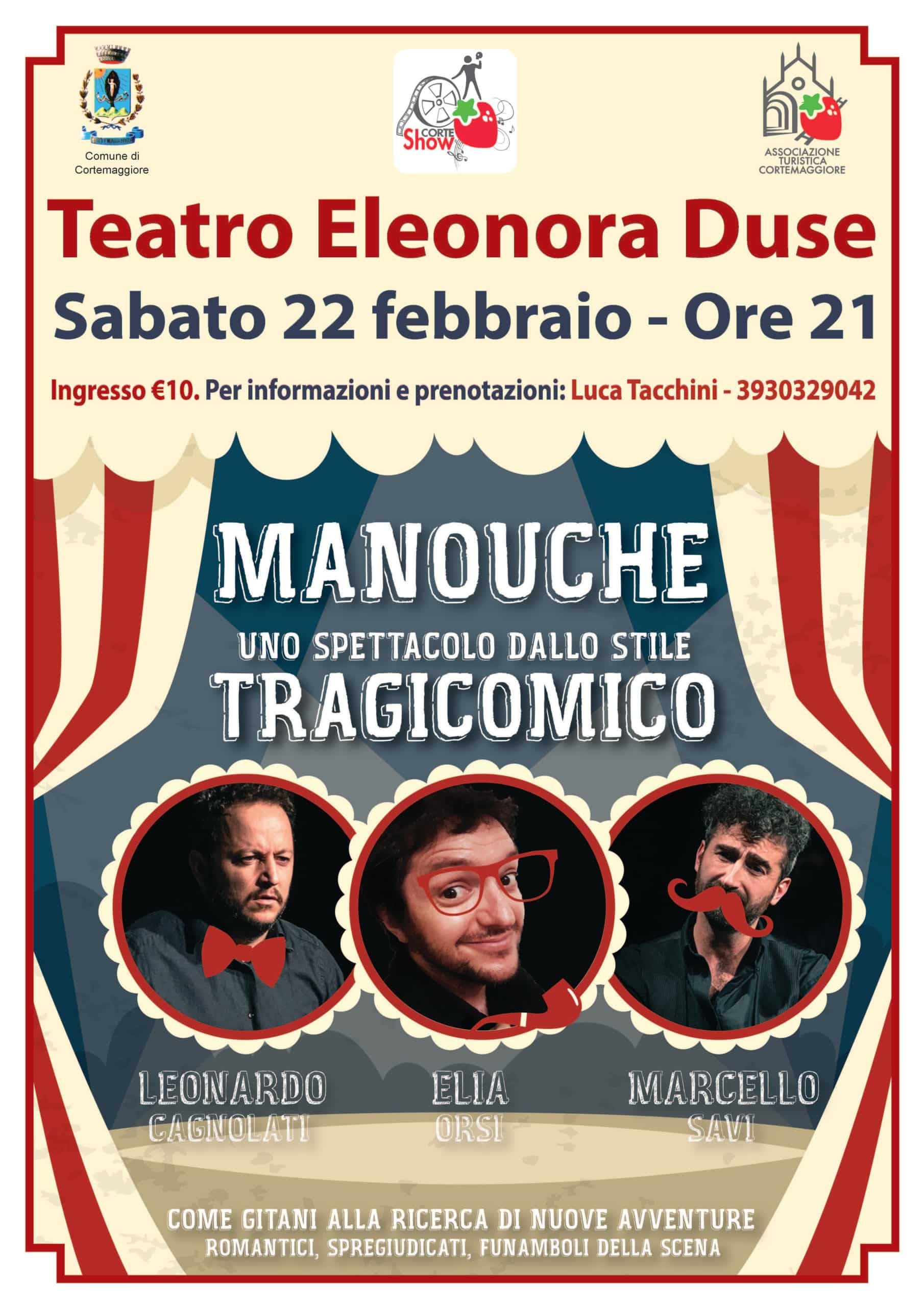 Ritornano su palco del teatro Duse di Cortemaggiore i TraAttori sabato 22 febbraio