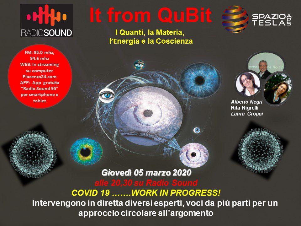 IT FROM QUBIT: Coronavirus