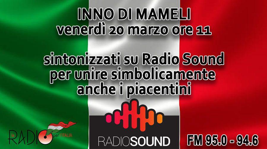 Inno di Mameli su Radio Sound
