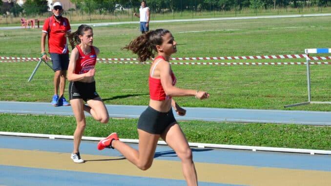 Eleonora Nervetti, atletica piacenza