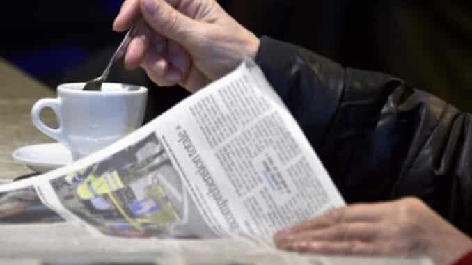 Giornali da leggere al Bar, a Piacenza non tutti i locali hanno ripreso il servizio - AUDIO sondaggio