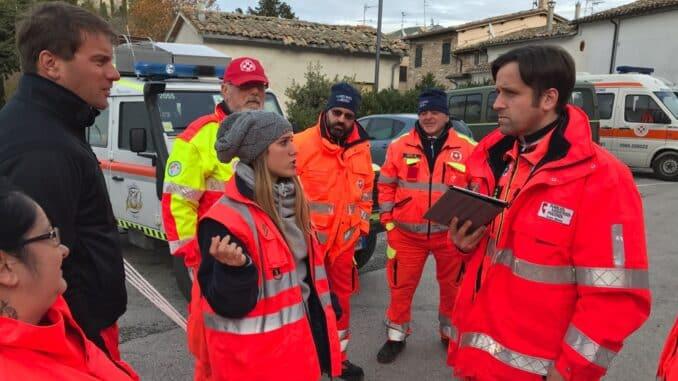 4 anni dall'intervento di ANPAS Comitato di Piacenza nel Centro Italia
