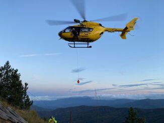Coppia di escursionisti cade in una scarpata nei pressi di Ferriere. Intervento delle squadre del Soccorso Alpino - FOTO