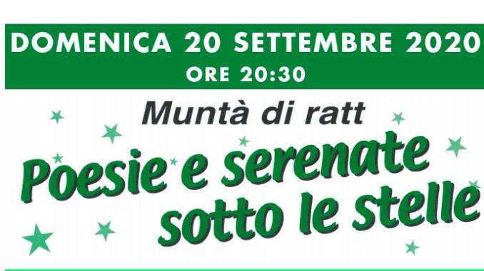 """Auser Piacenza, il 20 settembre con Marilena Massarini torna """"Poesie e serenate sotto le stelle"""""""
