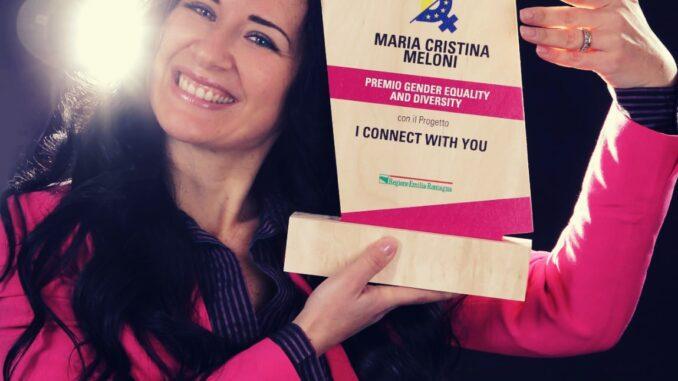 """Maria Cristina Meloni premiata con il GED """"Gender Equality and Diversity Label"""" grazie al progetto """"I connect with you"""" - AUDIO"""