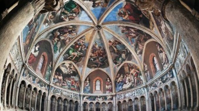 Cupola del Guercino e a San Francesco dall'Alto