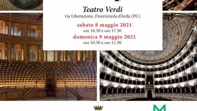 Teatri aperti, visite guidate al Teatro Verdi di Fiorenzuola d'Arda