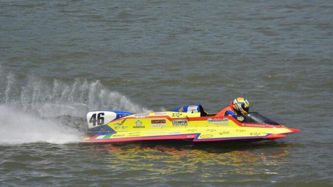 I piacentini Alex e Max Cremona in gara nella prova unica del Campionato Europeo di Motonautica a Chodziez - AUDIO