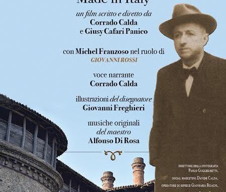 """Proiezione del documentario """"Giovanni Rossi – Made in Italy"""" a Ponte dell'Olio il 13 luglio"""