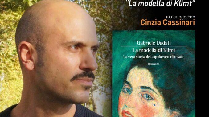 Gabriele Dadati ospite alle Serate letterarie Giana Anguissola di Travo il 29 luglio