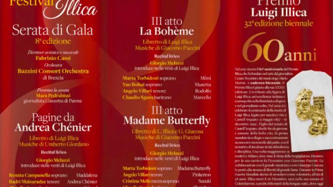 Festival Illica 2021 dal 17 al 24 luglio a Castell' Arquato - FOTO