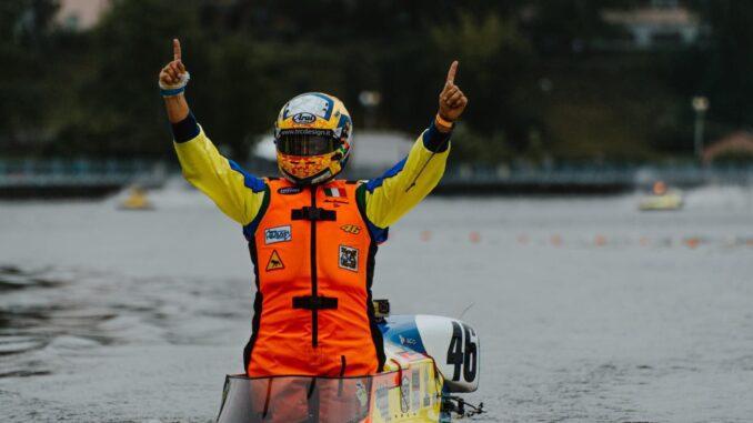 Motonautica, Alex Cremona trionfa nella seconda tappa del Mondiale in Ucraina